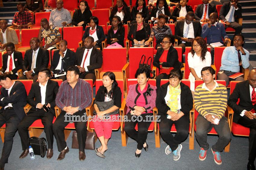 Participantes no encontro