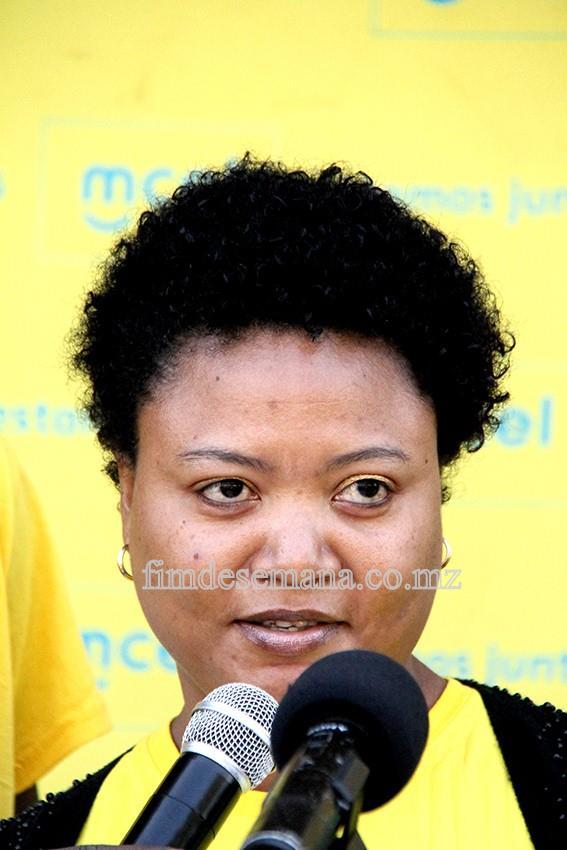 Ruth Chinhanda -  representante da AMVIRO
