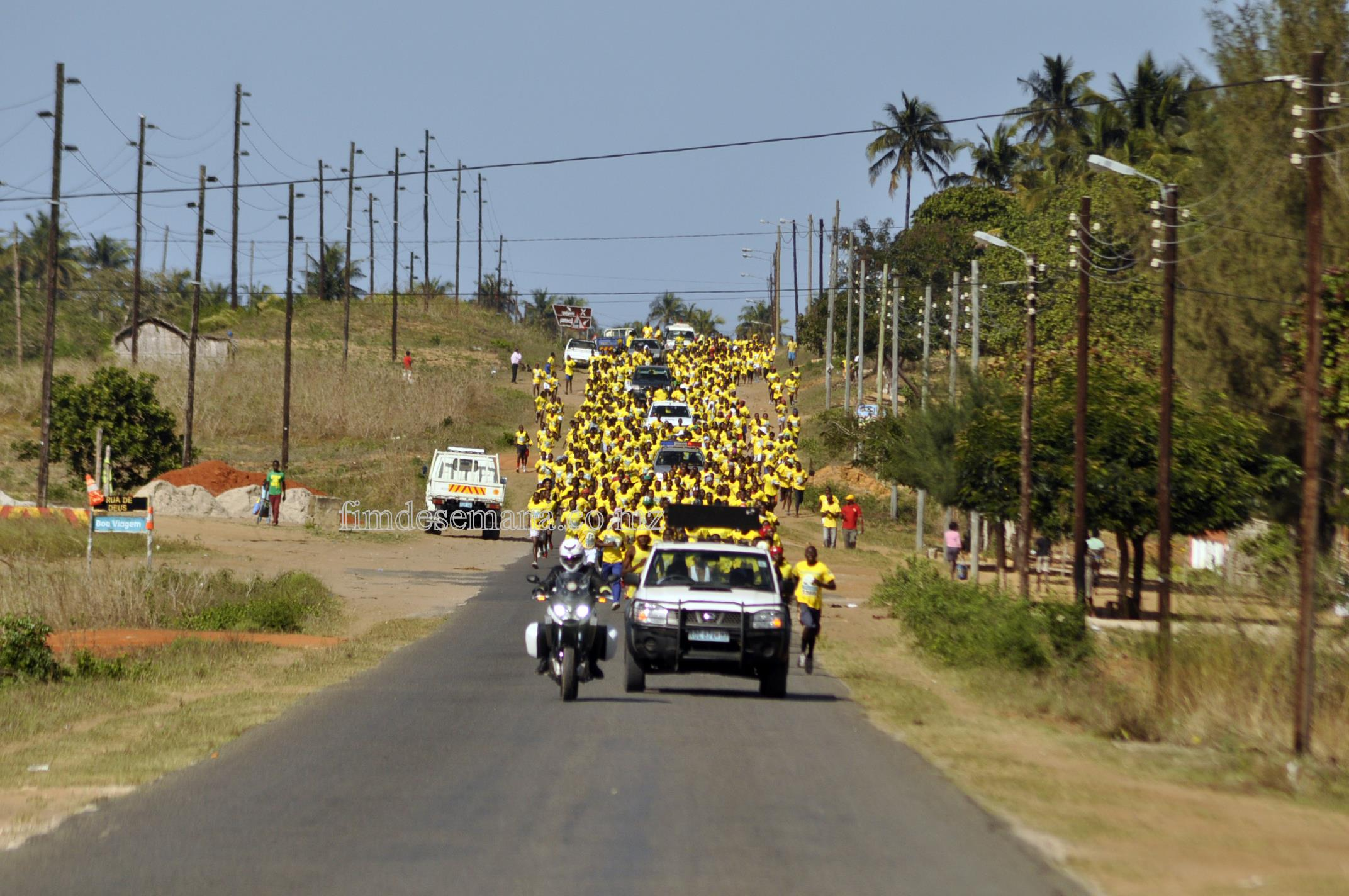 Adesão Légua mcel  celebrada entre a mcel-Moçambique Celular e a Federação Moçambicana de Atletismo (FMA)