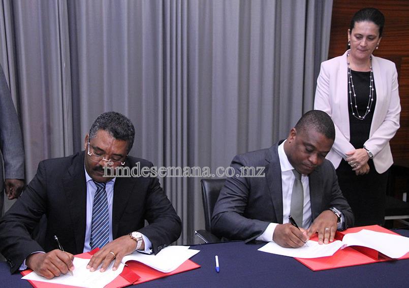 Assinatura do memorando de entedimento entre a CTA e o Governo