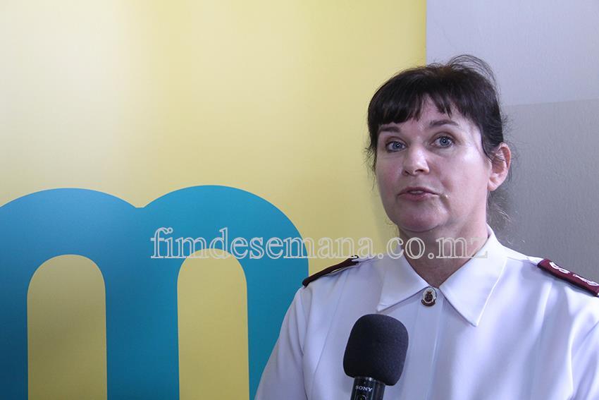 Gail White - Responsável pelos Programas Sociais do Exército de Salvação