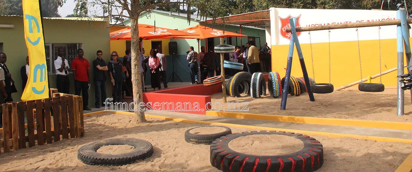 Jardim Infantil de Inhagóia reabilitado