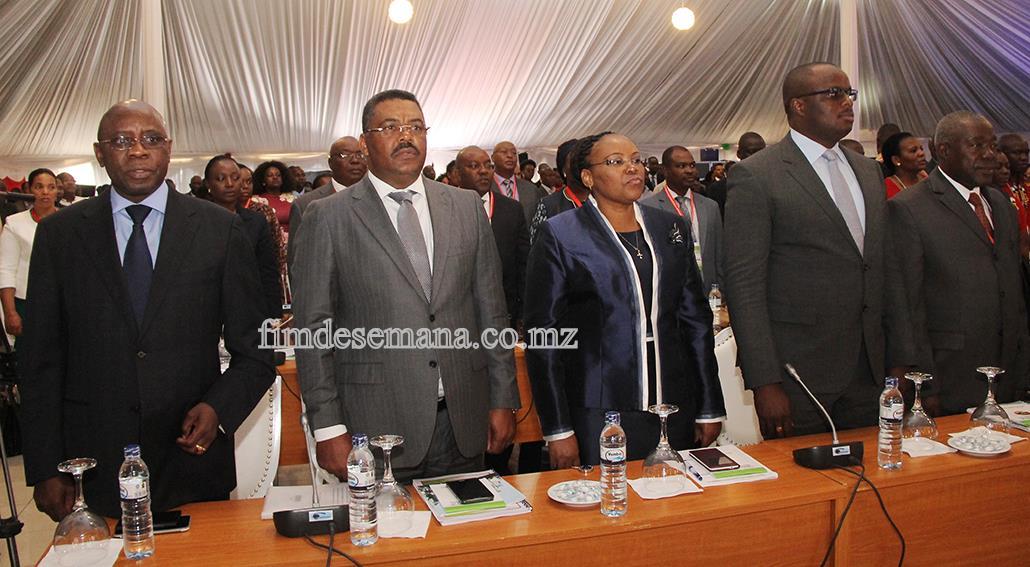 Participantes no Lançamento do Plano Estratégico de Desenvolvimento da Província de Maputo