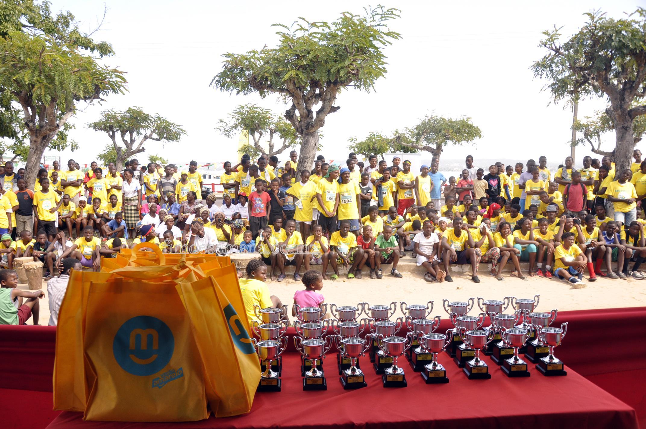 Premiação Légua mcel  celebrada entre a mcel-Moçambique Celular e a Federação Moçambicana de Atletismo (FMA)