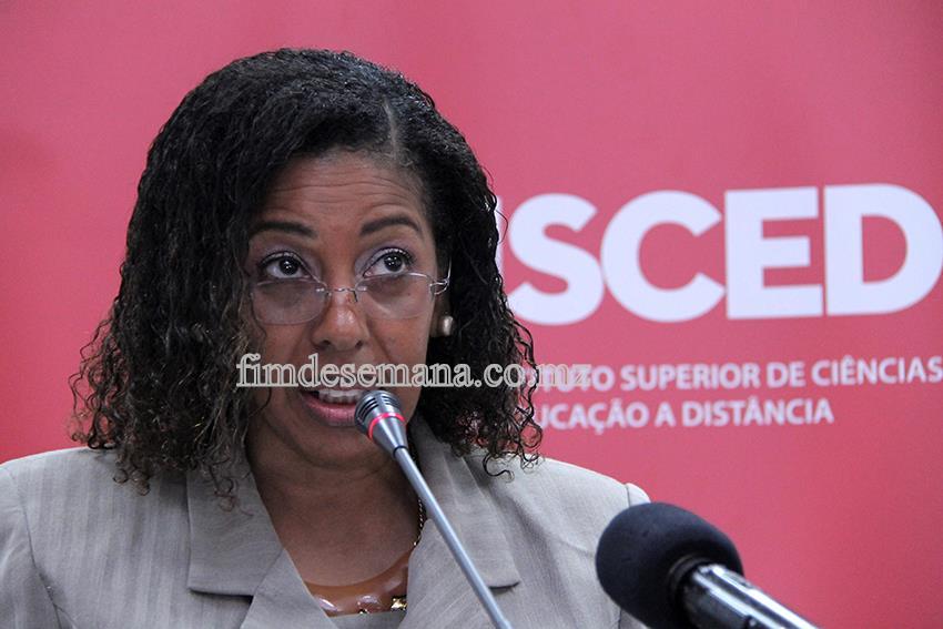 Sandra Brito - Directora Nacional do Ensino Superior