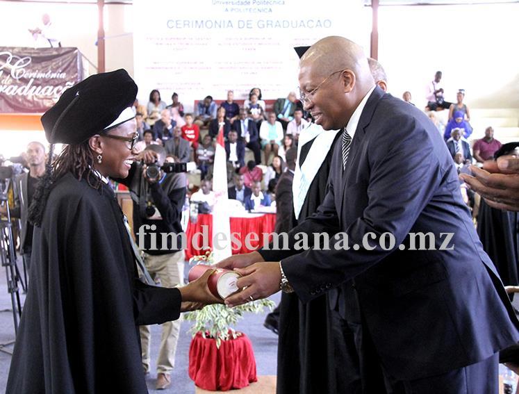 Acto da entrega do diploma