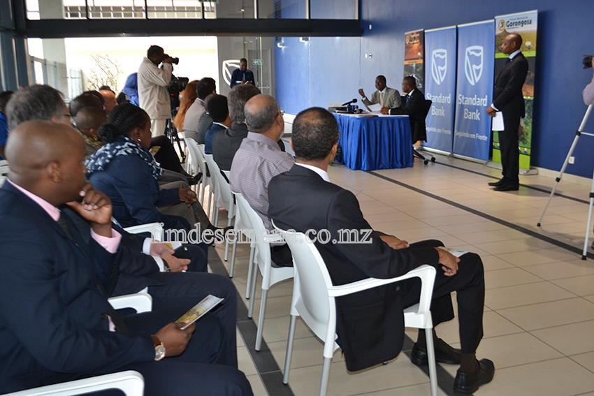 Acto de celebração da parceria entre o Parque Nacional de Gorongosa e o Standard Bank