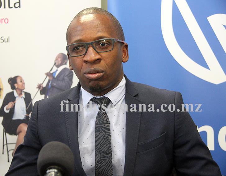 Cláudio Banze Director de Canais Distribuição Vendas e Serviços do Standard Bank