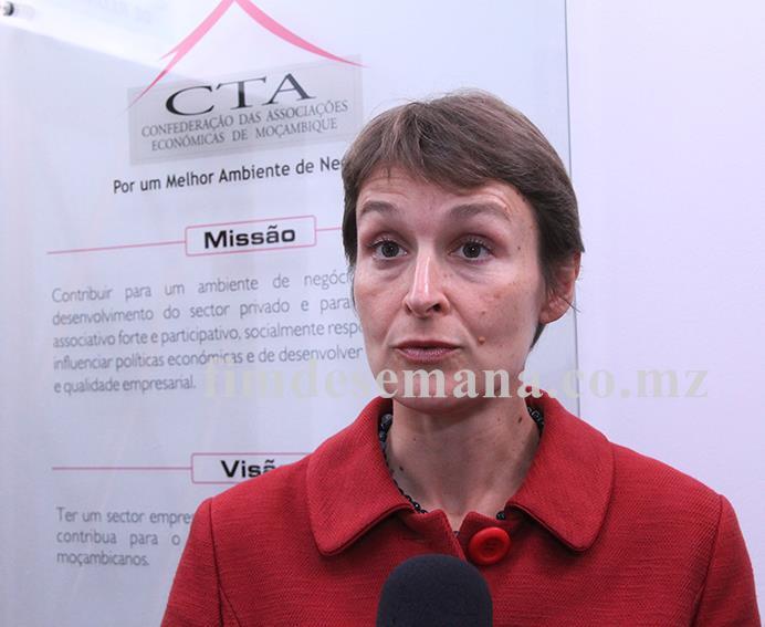 Joanna Kuenssberg Alta Comissária Britânica