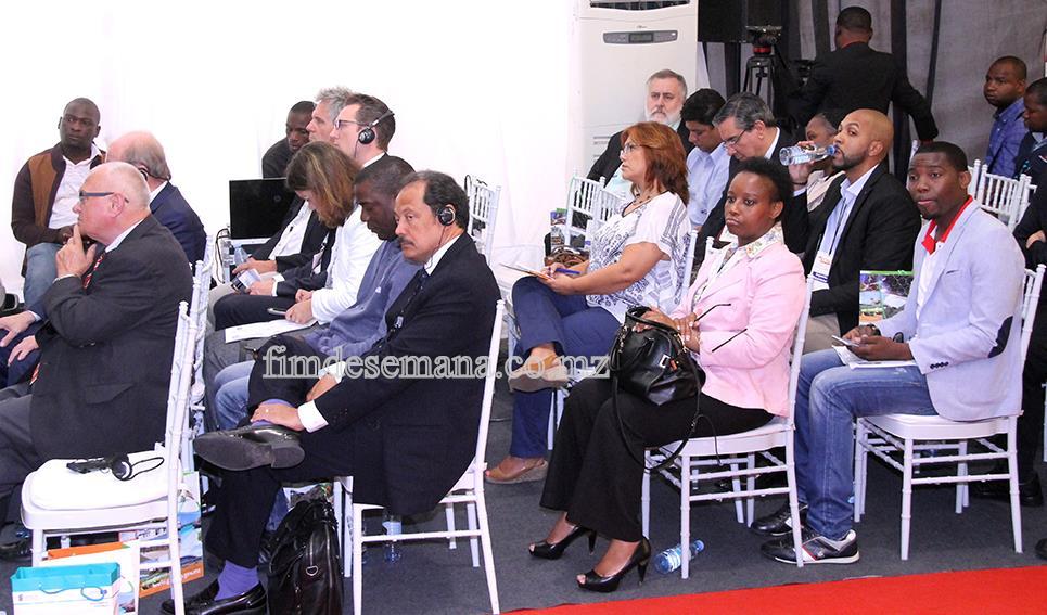 Participantes no Seminario sobre promocao de potencialidades  economicas e oportunidades de investimentos em mocambique