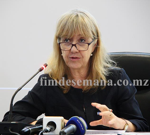 Bettina Maas coordenadora residente interina do Fundo das Nações Unidas para a População em Moçambique