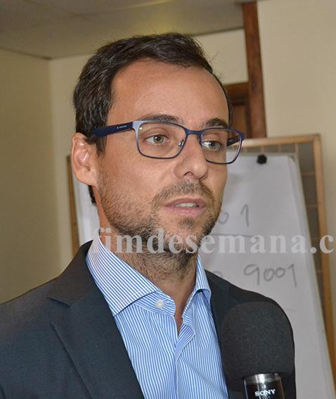 Francisco Pereira dos Santos Vice presidente do Pelouro da Indústria Comércio e Serviços da CTA