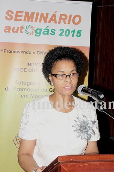 Manuela Joaquim Rebelo Vice Ministra dos Transportes e Comunicações