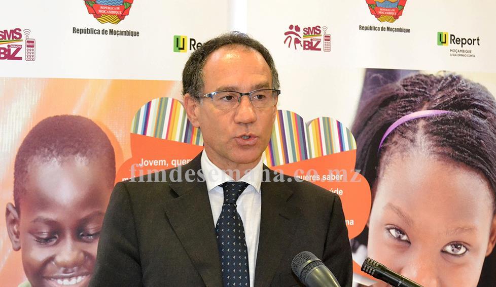 Marcoluigi Corsi representante do UNICEF