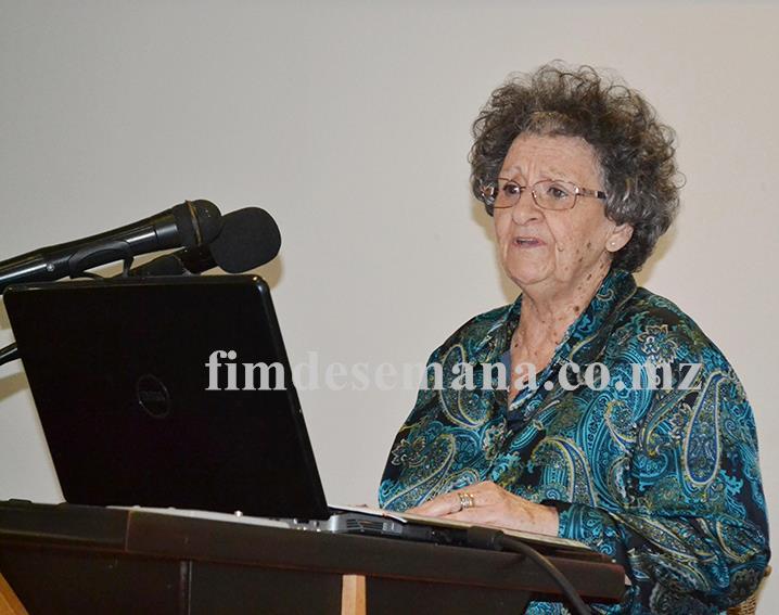 Maria Natália Folgado Directora Geral do Instituto Médio Politécnico e das Escolas Secundárias da Universidade Politécnica