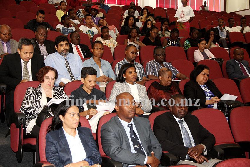 Participantes na Conferência sobre Objectivos de Desenvolvimento Sustentável