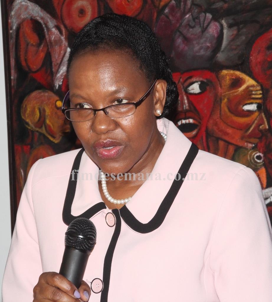 Ana Comoana Vice ministra da Cultura e Turismo