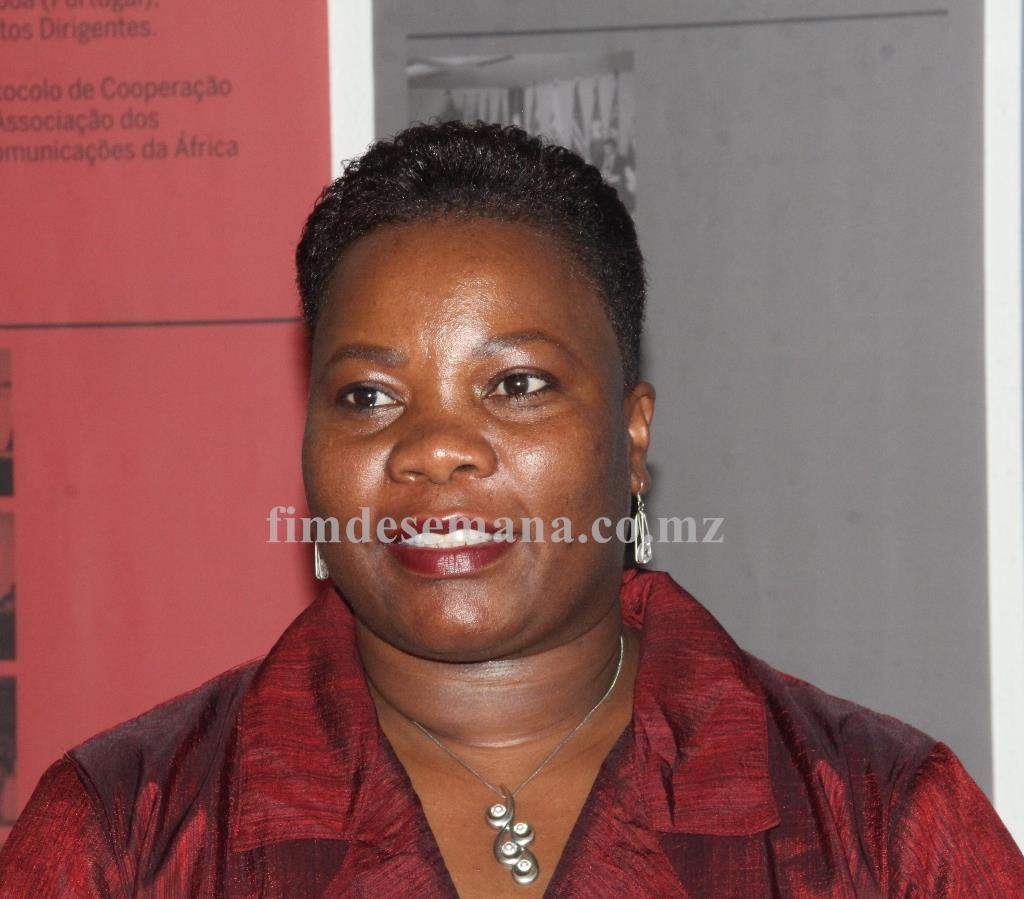 Arlinda Eliseu Administradora da Empresa de Correios de Moçambique
