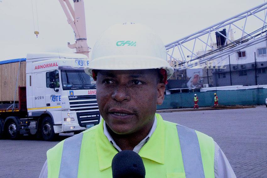Augusto Abudo Director Ferroviário da CFM Sul
