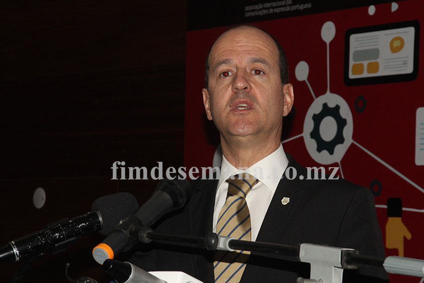 João Caboz Santana Presidente da Direcção da AICEP