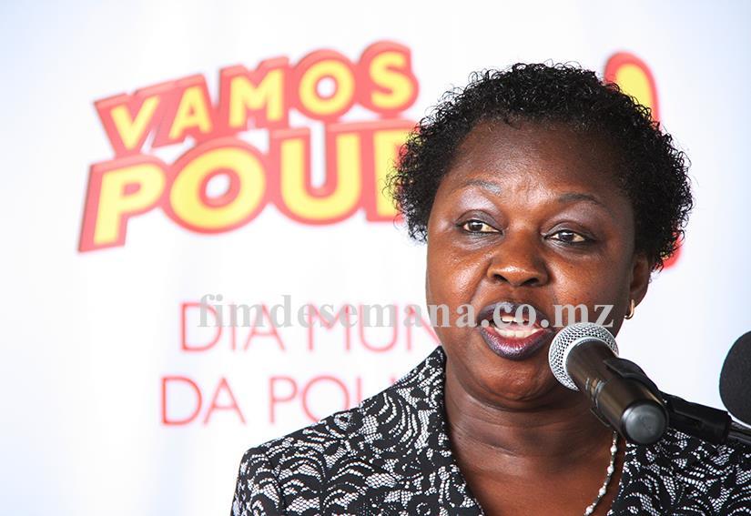 Joana David Matsombe Administradora do Banco de Moçambique