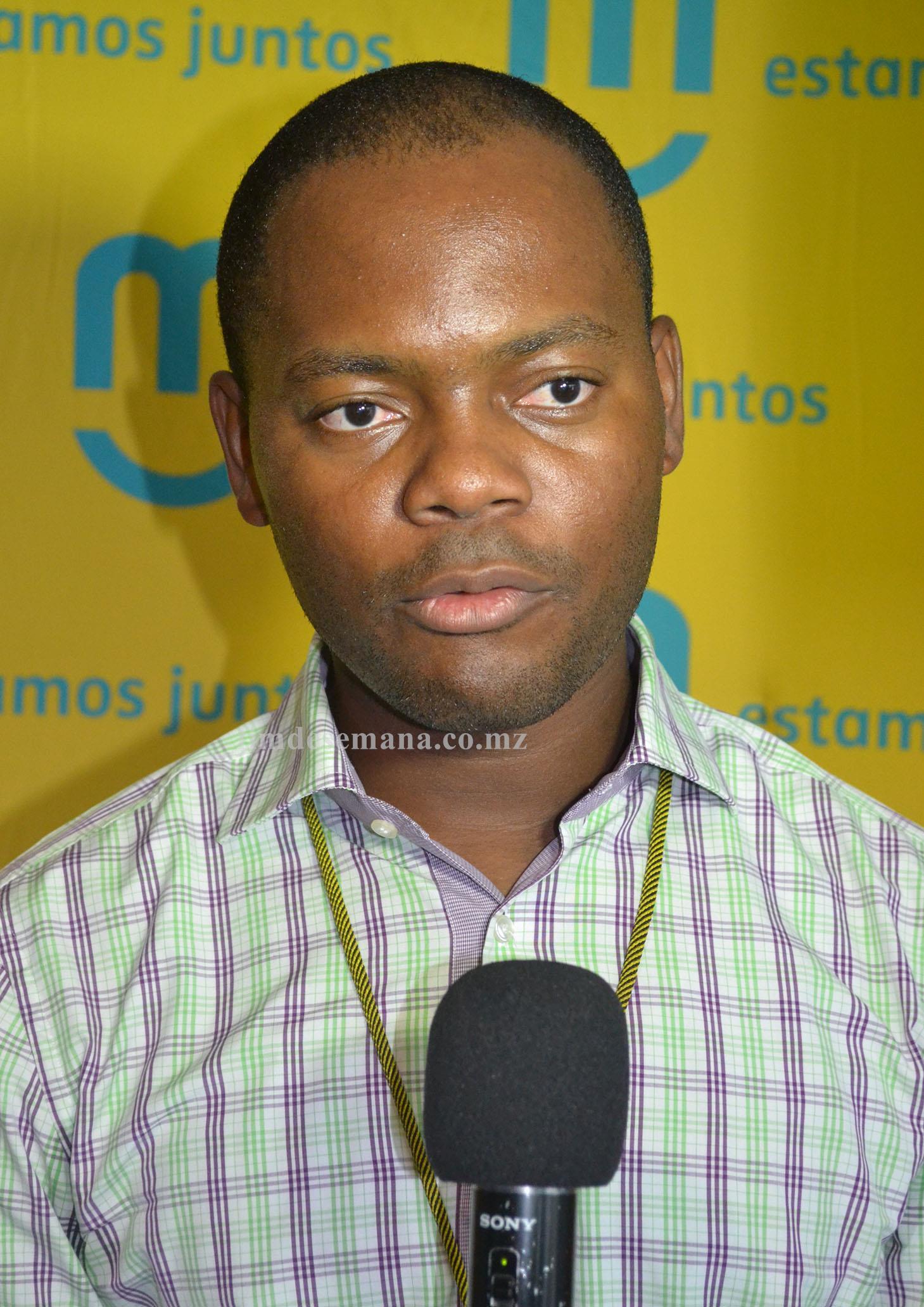 Jonas Alberto Representante da mcel