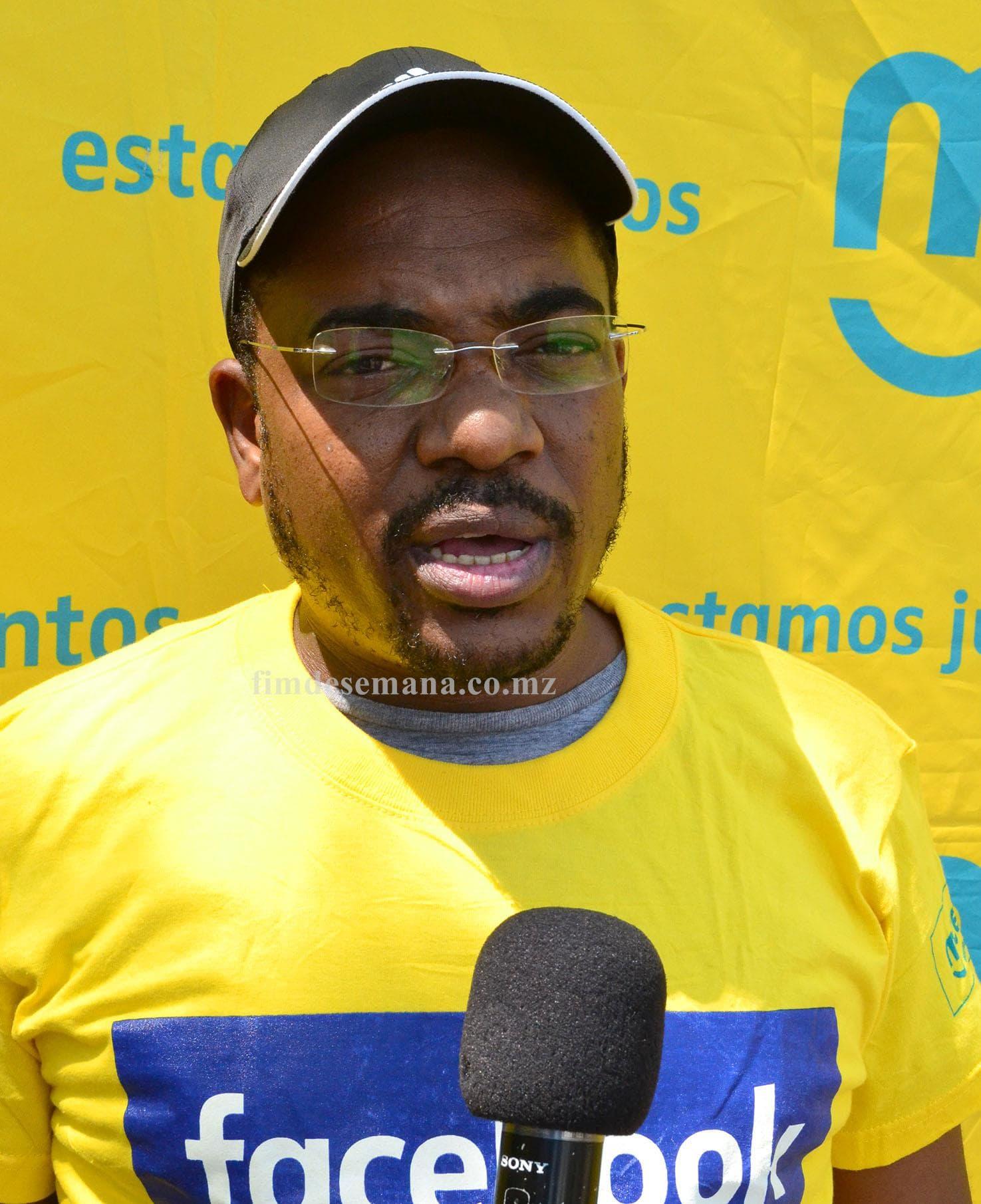 Kamal Badrú Secretário geral da Federação Moçambicana de Atletismo