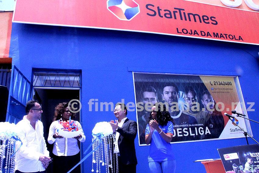 Nova loja da StarTimes inaugurada na Matola