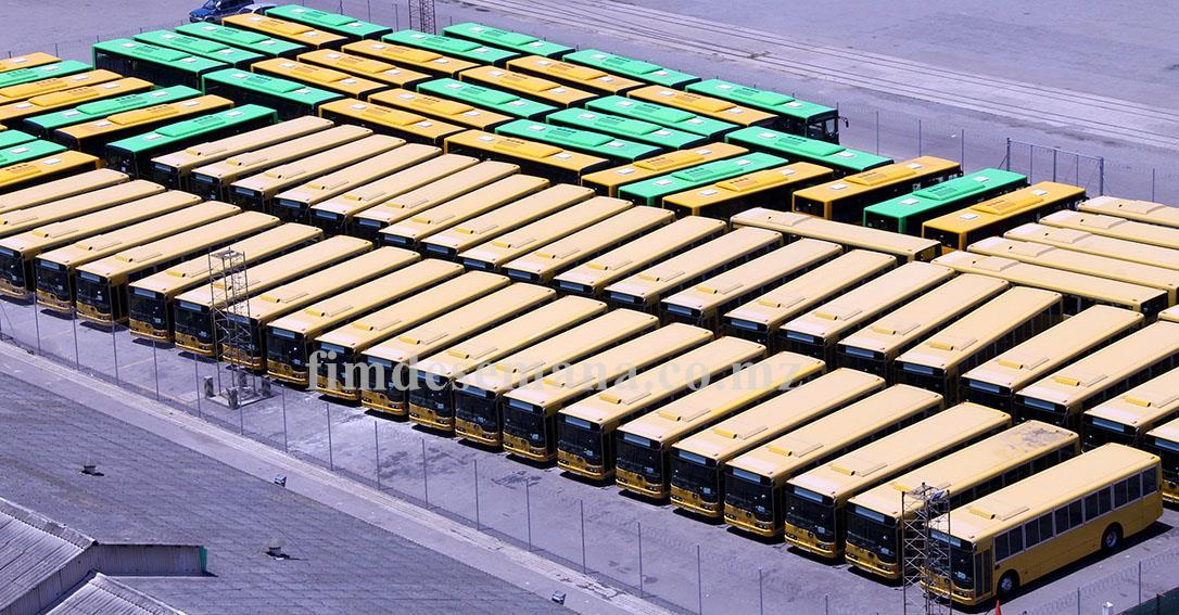 Parte dos autocarros projecto Parceria Público Privada 2