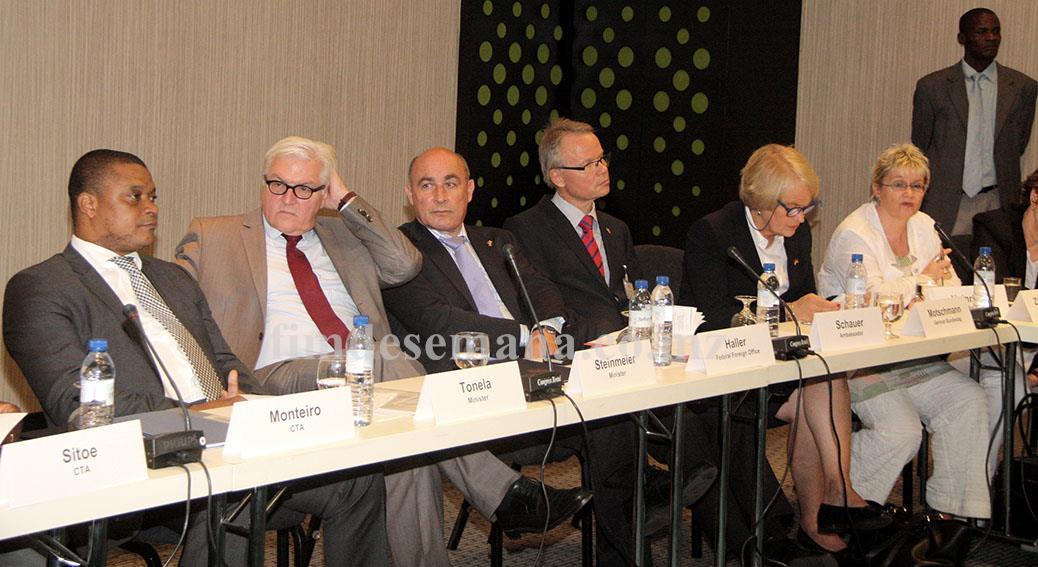 Participantes no encontro de exploração de oportunidades de negócios em Moçambique e Alemanha 1