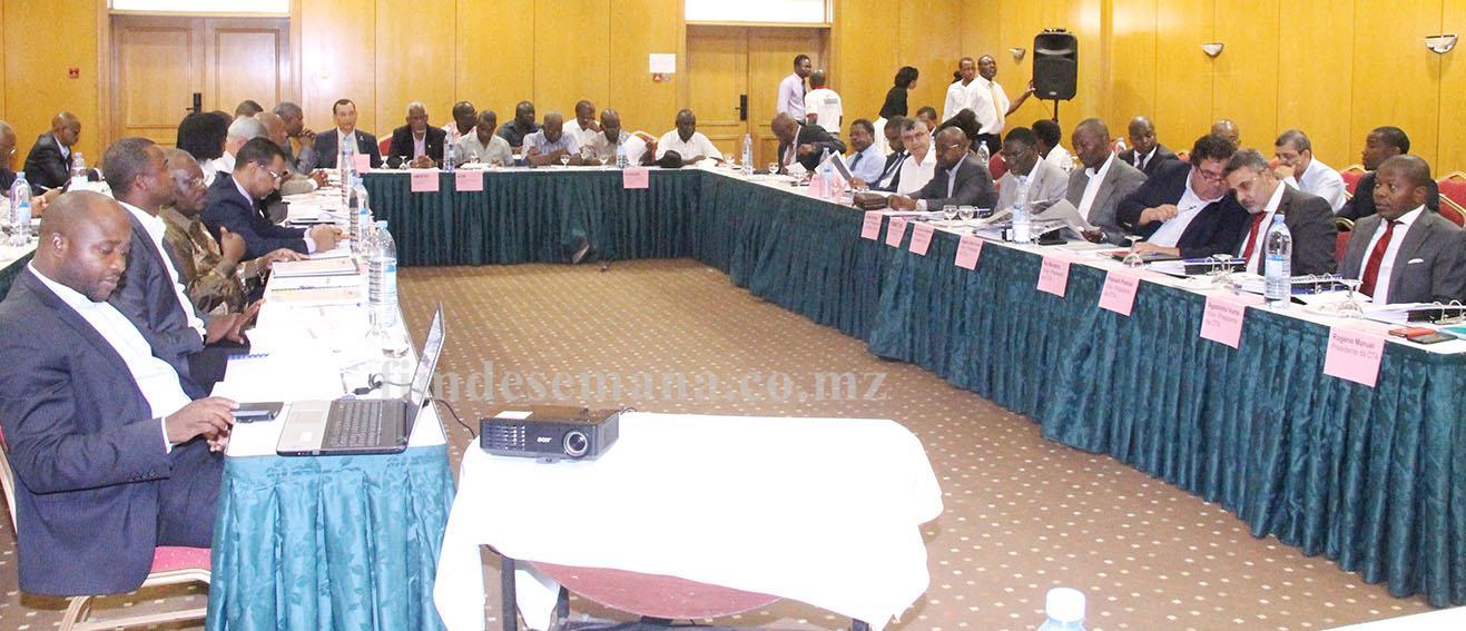 Participantes na Assembleia Geral da CTA