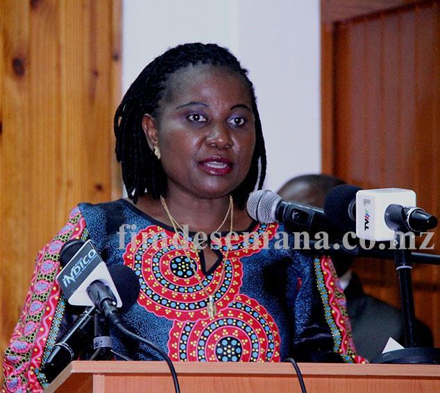 Victória Diogo Ministra do Trabalho Emprego e Segurança Social