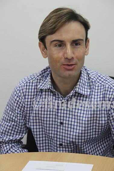 François Pereira Representante da Shoprite