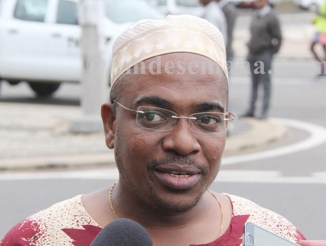 Kamal Badru Secretário Geral da Federação Moçambicana de Atletismo