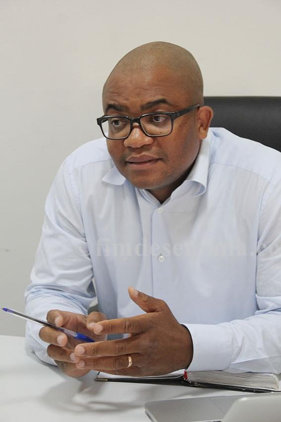 Lino Massicane Director geral da Sodel Sociedade de Despachos Lda