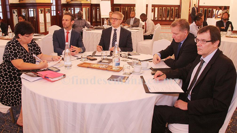 Participantes no Seminário de Negócios entre Moçambique e Finlândia