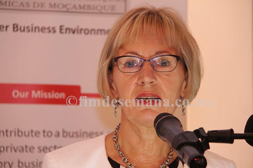 Seija Toro Embaixadora da Finlândia em Moçambique