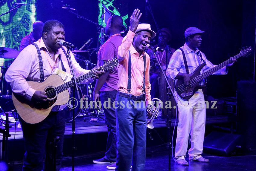 Show de lançamento do novo álbum da banda Ghorwane