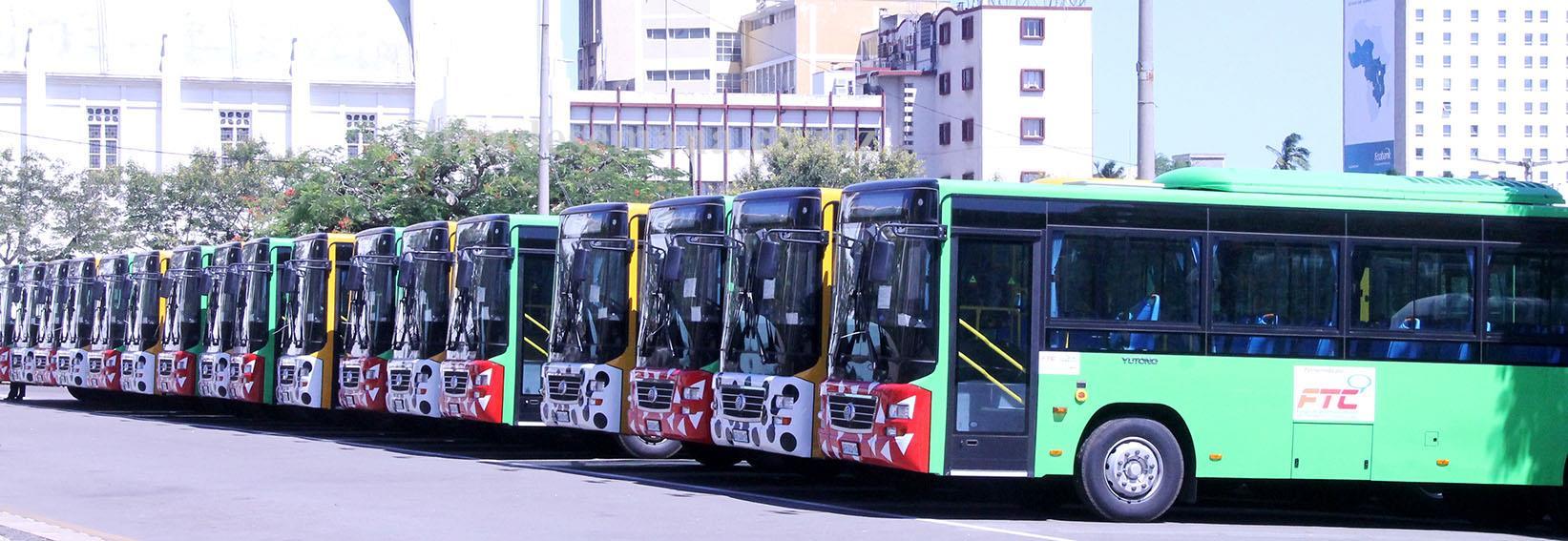 50 autocarros entregues aos operadores privados pelo MTC