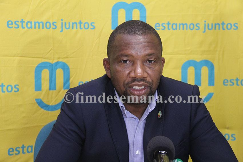 Filipe Johane secretário geral da Federação Moçambicana de Futebol FMF