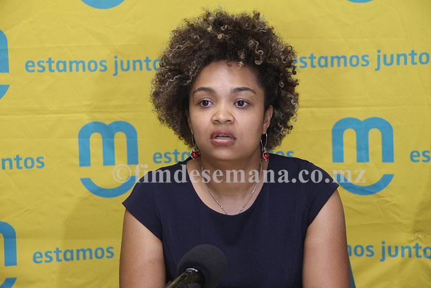 Márcia While directora do Serviço de Atendimento ao Cliente da mcel