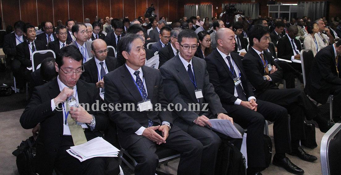 Participantes na Conferência Público Privada para Infra estruturas de Alta Qualidade