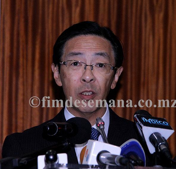 Takatoshi Nishiwaki Vice Ministro do Ministério da Terra Infra estruturas Transportes e Turismo do Japão