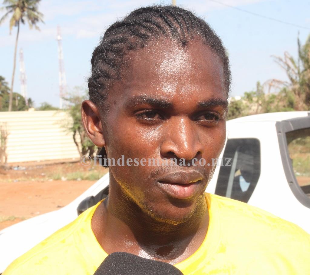 Alberto Mamba Vencedor da Légua mcel na Matola
