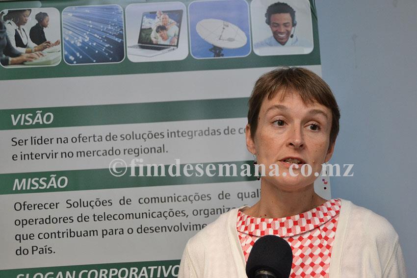 Joanna Kuenssberg Alta Comissária Britânica em Moçambique