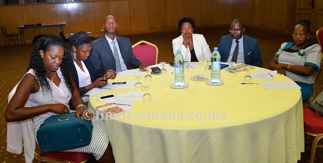 Participantes no workshop de apresentação do Pacto de Integridade de Negócios Contra a Corrupção