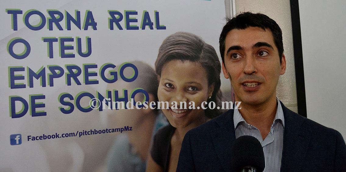 Pedro Santos representante da FlowMoçambique