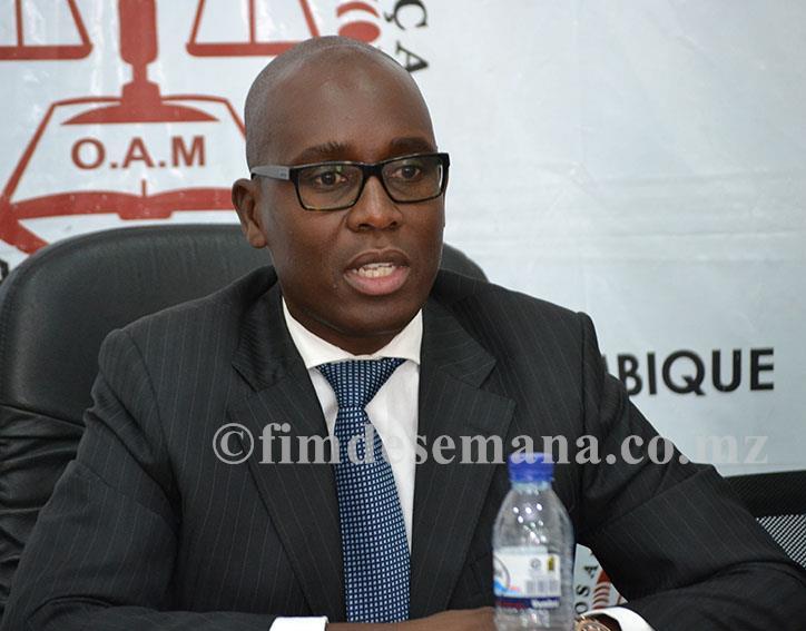 Tomás Timbane Bastonário da Ordem dos Advogados de Moçambique