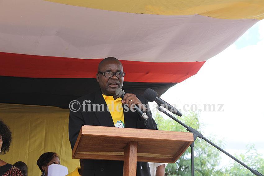 Alfredo Artur administrador do Distrito de Nampula