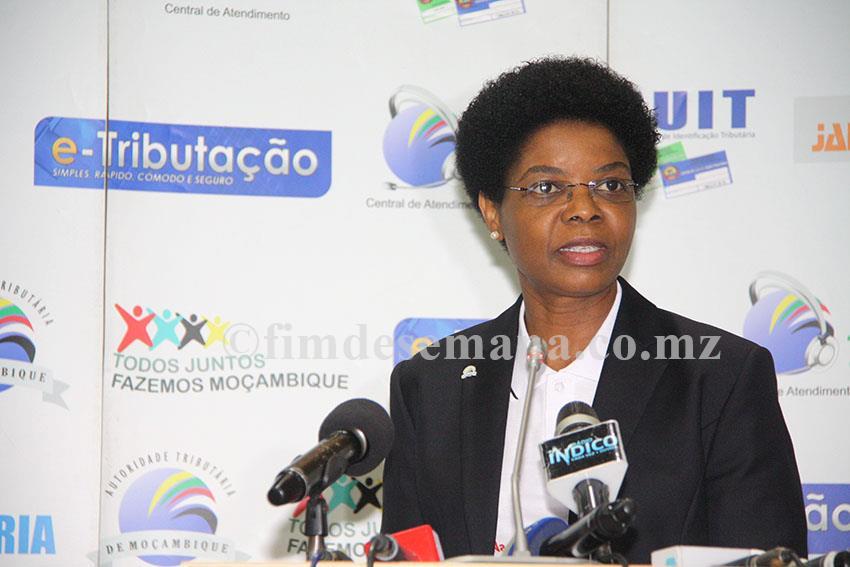 Amélia Nakhare presidente da Autoridade Tributária de Moçambique